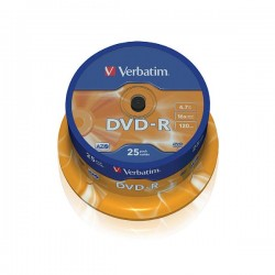 Verbatim  DVD-R 16X 4.7GB 25pack